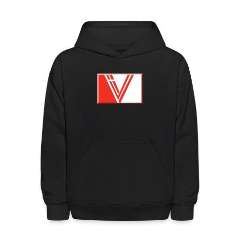LBV red drop - Kids' Hoodie