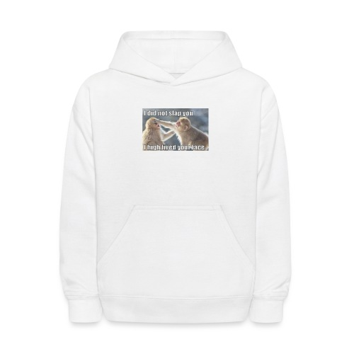 funny animal memes shirt - Kids' Hoodie