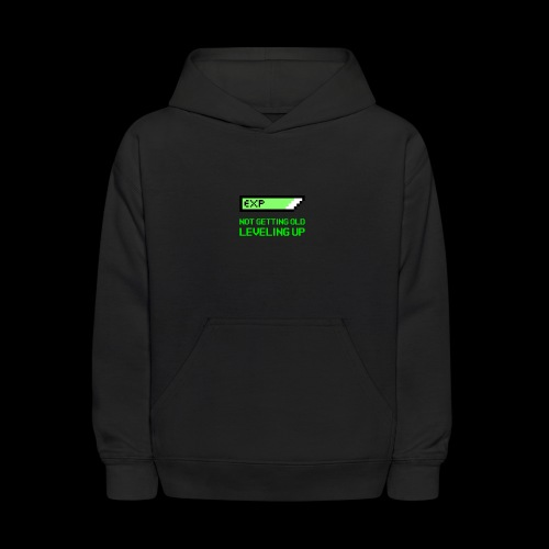 Not Getting Old - Leveling Up - Kids' Hoodie