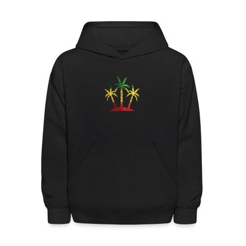Palm Tree Reggae - Kids' Hoodie