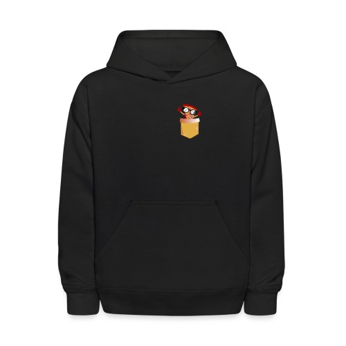 Pizza Lover pocket - Kids' Hoodie