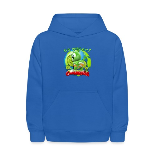 Gummibär Go Green Earth Day Earth - Kids' Hoodie