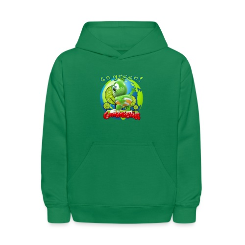 Gummibär Go Green Earth Day Earth - Kids' Hoodie