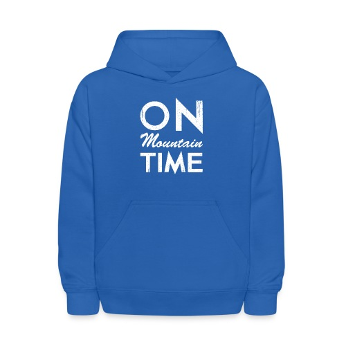 On Mountain Time - Kids' Hoodie