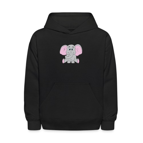 Cute Baby Elephant - Kids' Hoodie