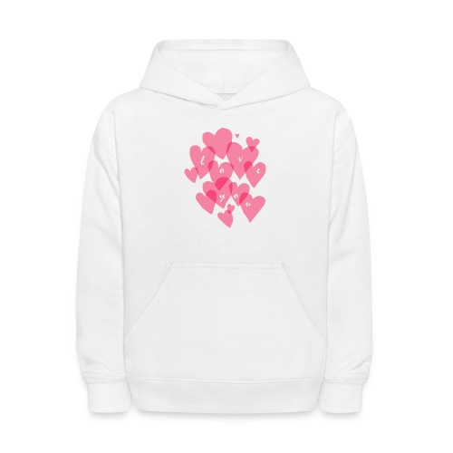love you - Kids' Hoodie