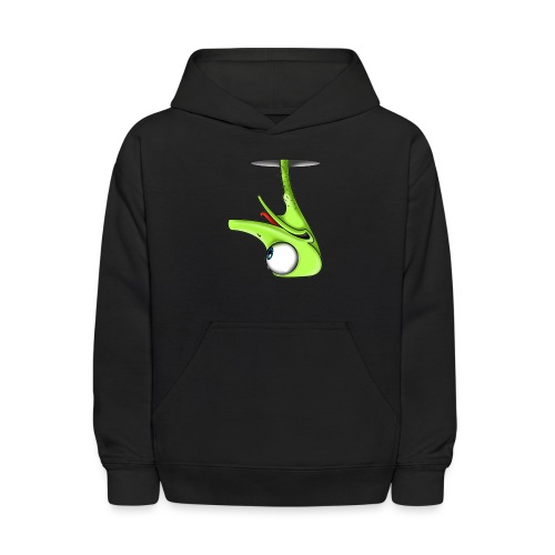 Funny Green Ostrich - Kids' Hoodie
