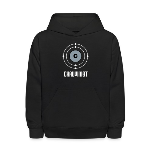 Carbon Chauvinist Electron - Kids' Hoodie