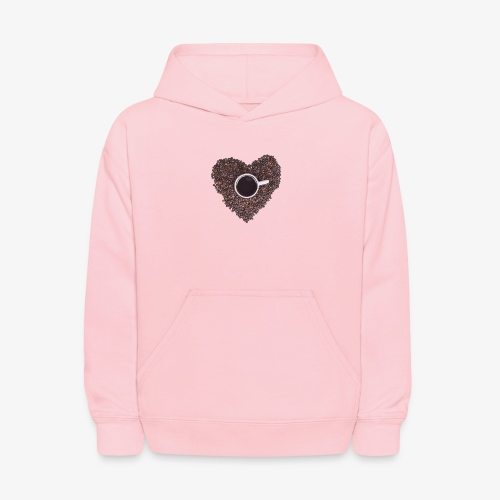 I Heart Coffee Black/White Mug - Kids' Hoodie