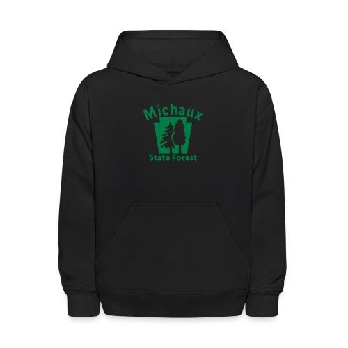 Michaux State Forest Keystone (w/trees) - Kids' Hoodie
