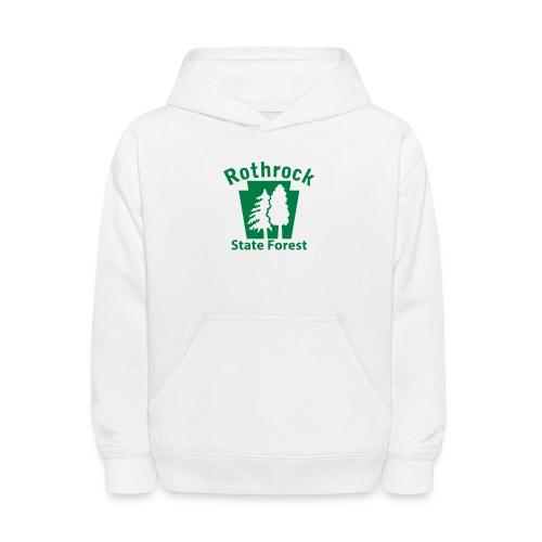 Rothrock State Forest Keystone (w/trees) - Kids' Hoodie