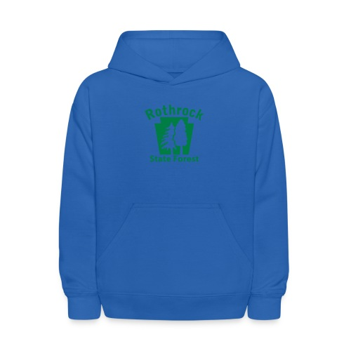 Rothrock State Forest Keystone (w/trees) - Kids' Hoodie