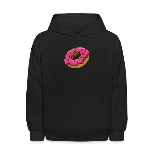 ArticFoxClothing Donut pink icing design - Kids' Hoodie