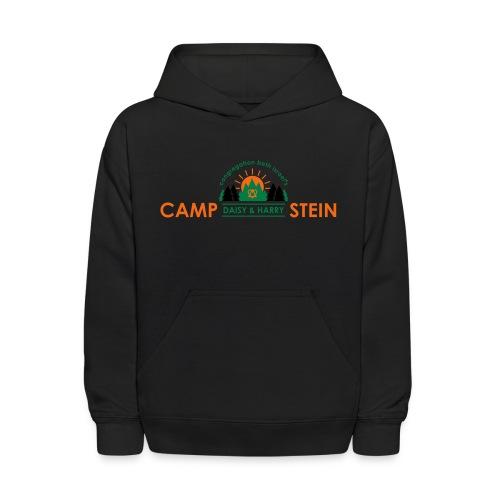 campstein horiz 4color - Kids' Hoodie