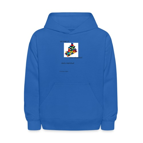 Hi I'm Ronald Seegers Collection-(transparent) - Kids' Hoodie