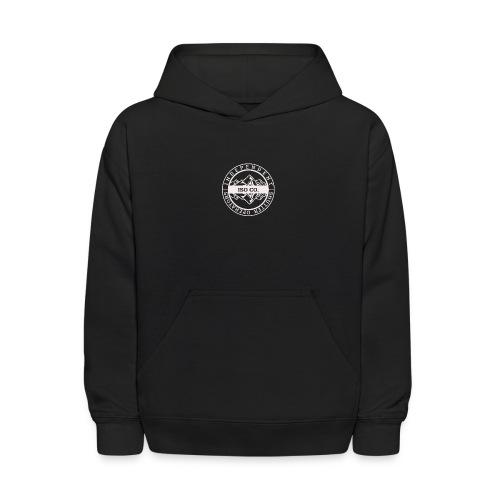 ISO Co. White Classic Emblem - Kids' Hoodie