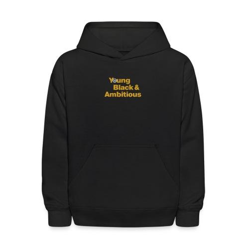YBA Black and Gold Shirt2 - Kids' Hoodie