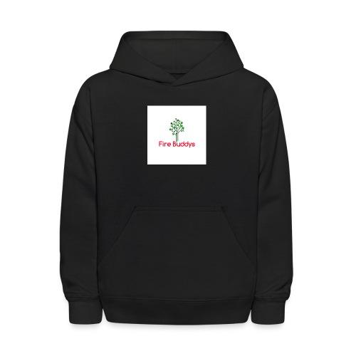 Fire Buddys Website Logo White Tee-shirt eco - Kids' Hoodie