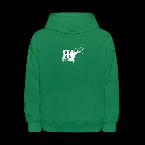 RKStudio White Logo Version - Kids' Hoodie