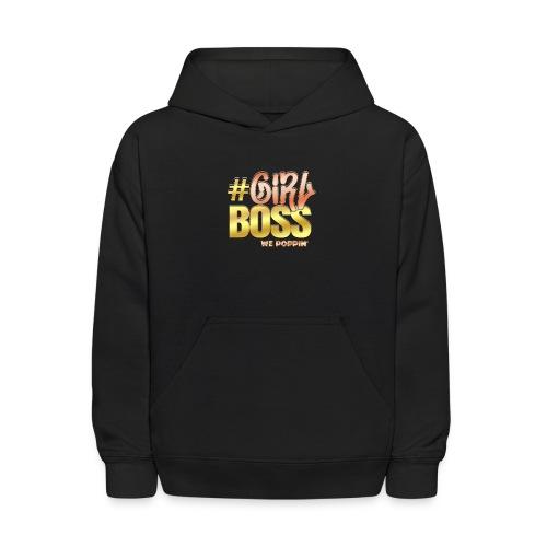 Girl Boss - Kids' Hoodie
