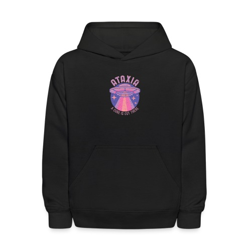 The Cure Is Out There - Purple - Kids' Hoodie