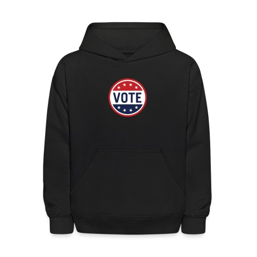 Vote Red, White and Blue with Stars - Kids' Hoodie