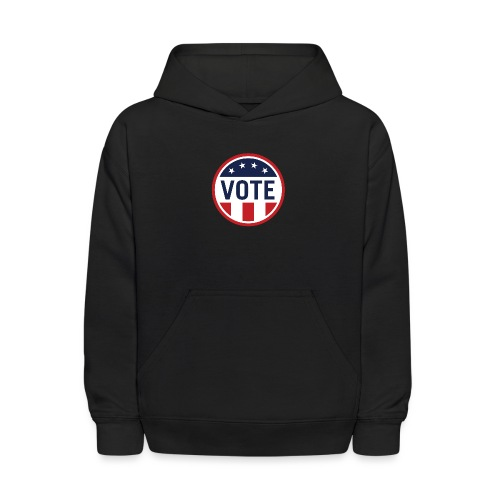 Vote Red White and Blue Stars and Stripes - Kids' Hoodie