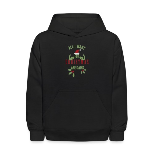 All i want for christmas - Kids' Hoodie
