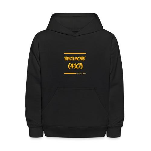 BALTIMORE 410 ORANGE - Kids' Hoodie