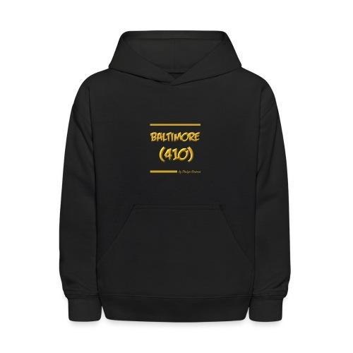 BALTIMORE 410 GOLD - Kids' Hoodie