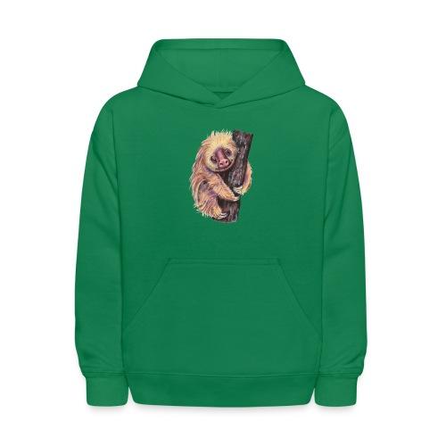 Sloth - Kids' Hoodie