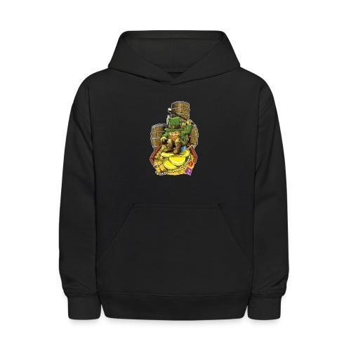 Angry Irish Leprechaun - Kids' Hoodie