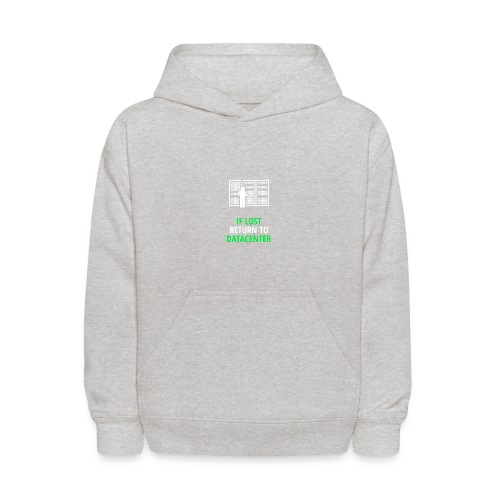 If Lost Return To Datacenter - Kids' Hoodie