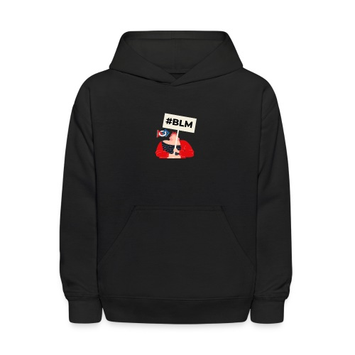#BLM FIRST Girl Petitioner - Kids' Hoodie