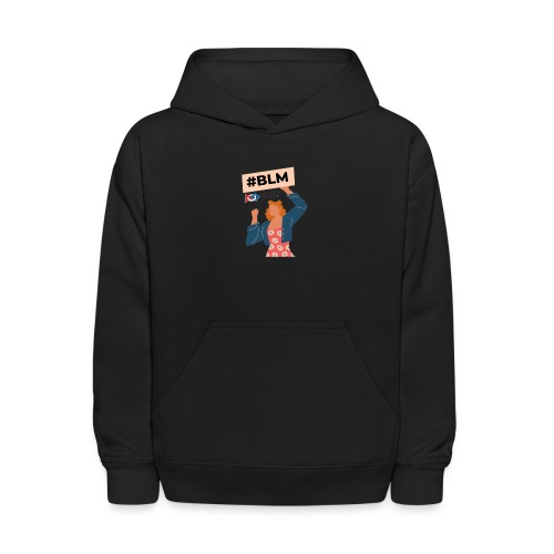 #BLM FIRST Women Petitioner - Kids' Hoodie