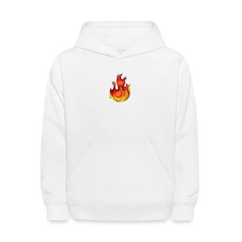 Scorchy White Logo - Kids' Hoodie