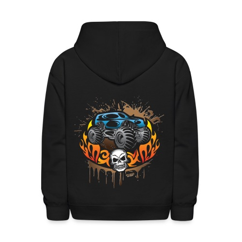 Monster Truck Shirt - Kids' Hoodie