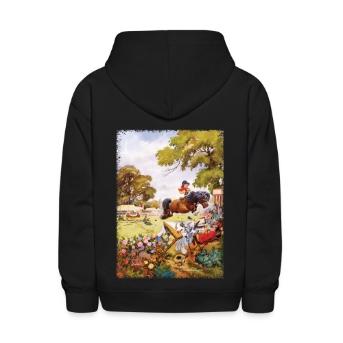 PonyTournament Thelwell Cartoon - Kids' Hoodie