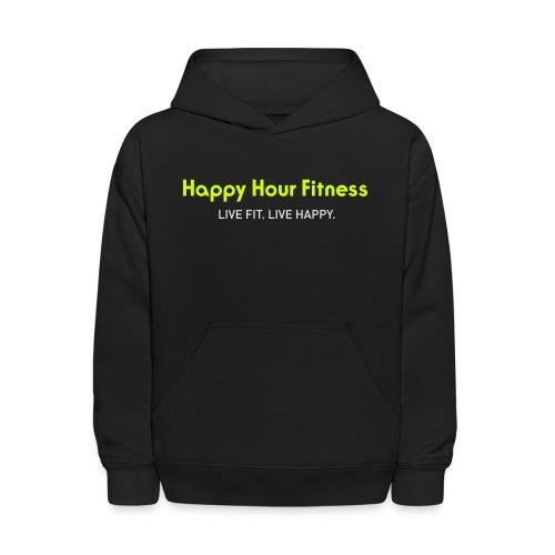 HHF_logotypeandtag - Kids' Hoodie