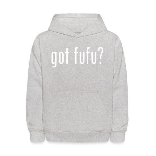gotfufu-white - Kids' Hoodie