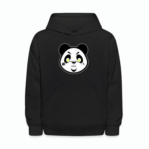 #XQZT Mascot - Focused PacBear - Kids' Hoodie