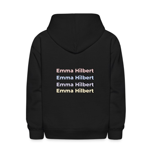 Emma Hilbert All over - Kids' Hoodie