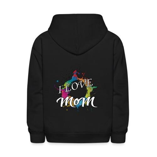 ILM I Love MoM - Kids' Hoodie