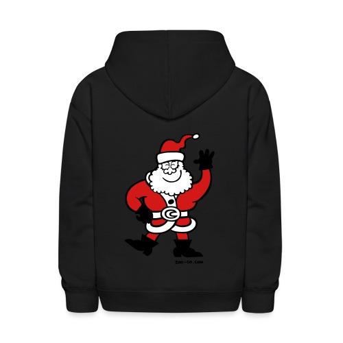 Santa Claus Greetings - Kids' Hoodie