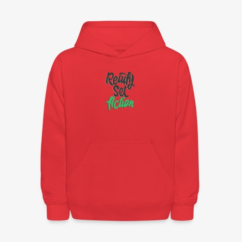 Ready.Set.Action! - Kids' Hoodie