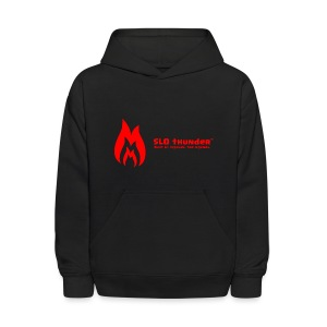 SLO thunder official logo - Kids' Hoodie