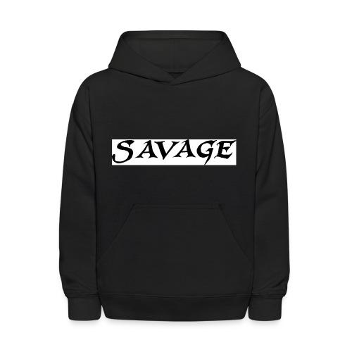 savage - Kids' Hoodie
