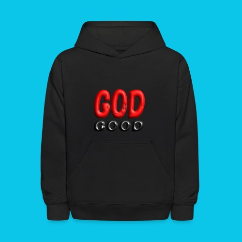 God Good - Blackout Edition - Kids' Hoodie