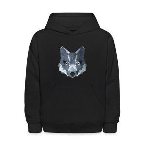 be a wolf - Kids' Hoodie