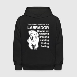 Protected By Labrador Shirt - Kids' Hoodie